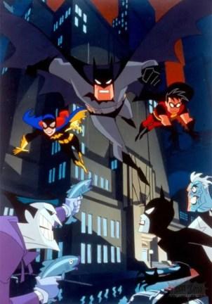 Serie Animada The new Adventure of Batman
