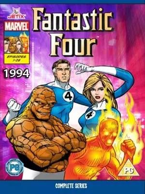 Serie Animada Los Cuatro Fantasticos 1990