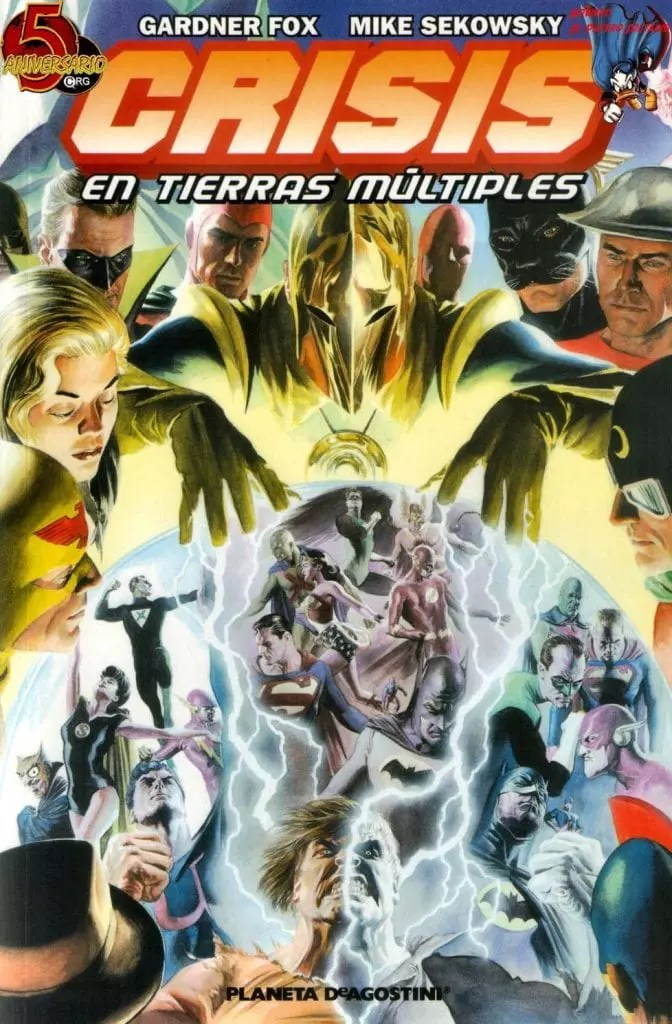 Comic Crisis en tierras multiples