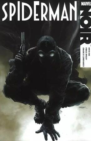 comic Spiderman noir