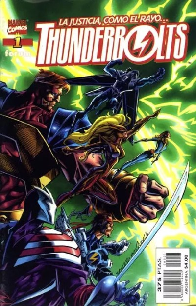Thunderbolts Vol1