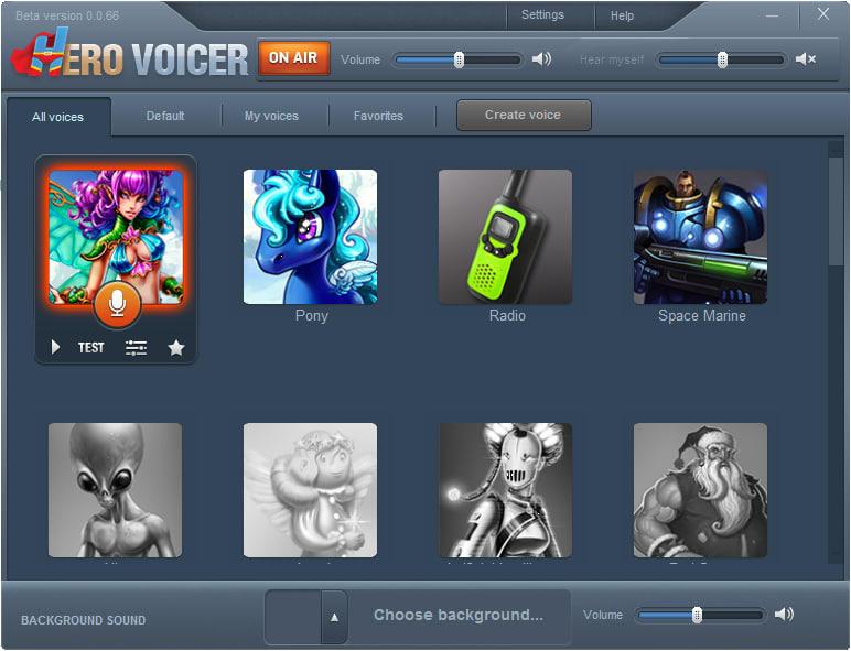 Hero Voicer