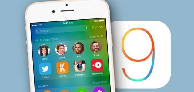 Apple iOS9