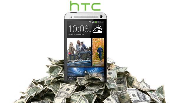 HTC revenue
