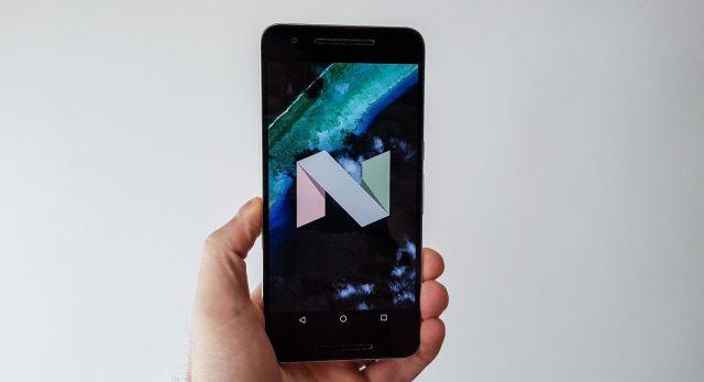 Android Nugat Nexus