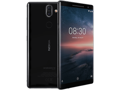 Nokia 8 Sirocco contracts