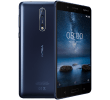 Nokia 8 (Single SIM) (64GB Tempered Blue)