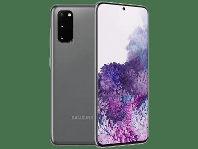 Samsung Galaxy S20 5G Cosmic Grey contracts