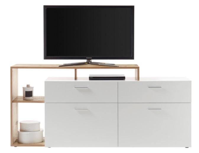 meuble tv leaf pas cher meuble tv but