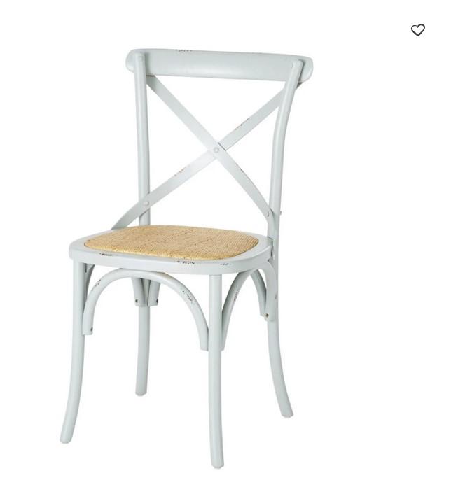 chaise tradition en bouleau vert de