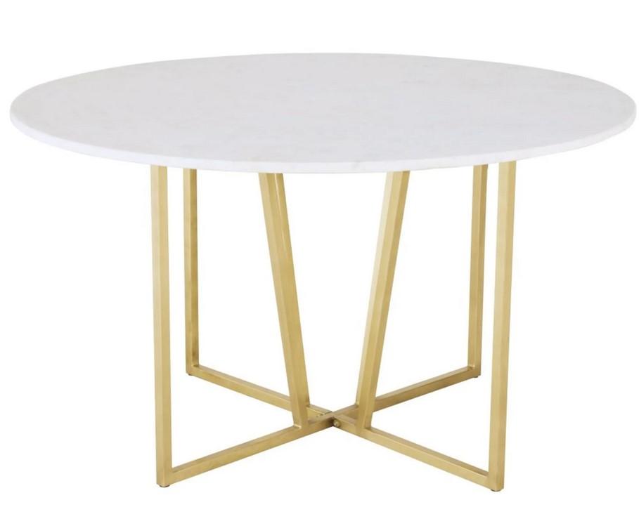table a manger ronde midtown en marbre