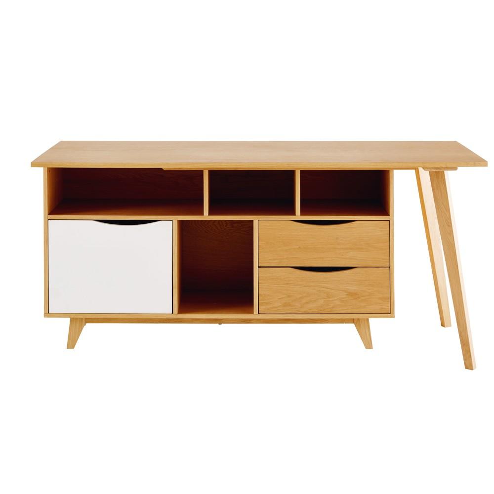 2 tiroirs bureau maisons du monde