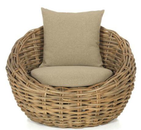 fauteuil de jardin alinea fauteuil en
