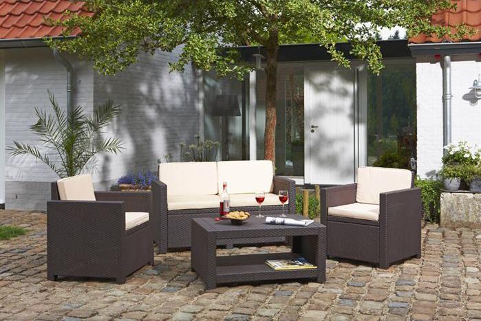Stunning Salon De Jardin En Rotin Collection Rocha Ideas - Amazing ...