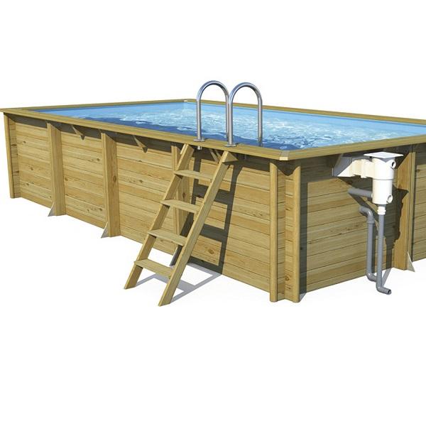 piscine hors sol bois weva proswell l 6