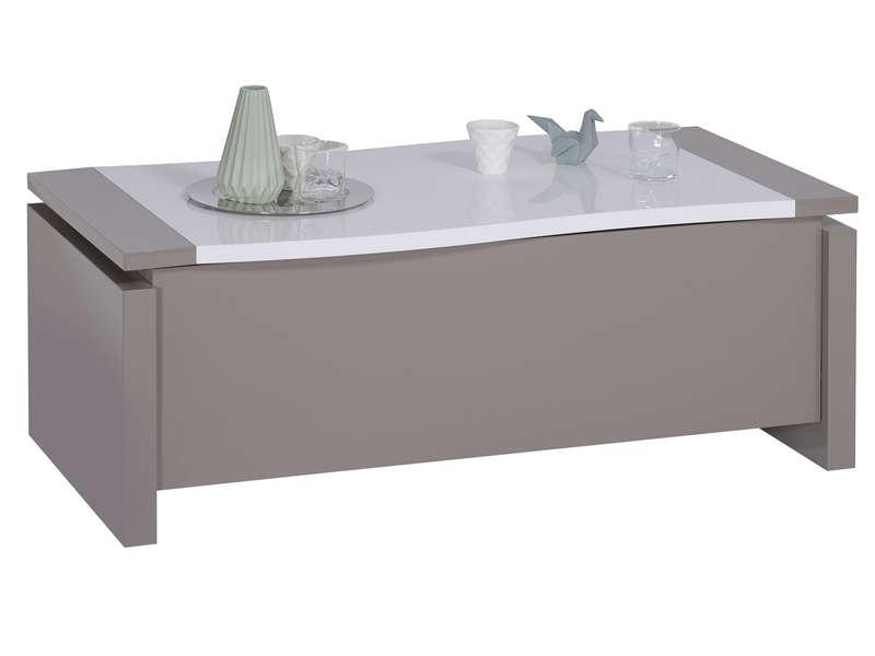 Table Basse Rectangulaire Rialto Avec Plateau Relevable Table Basse Conforama Iziva Com