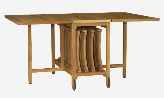 Table de Jardin Habitat ZENO Table pliante en chne