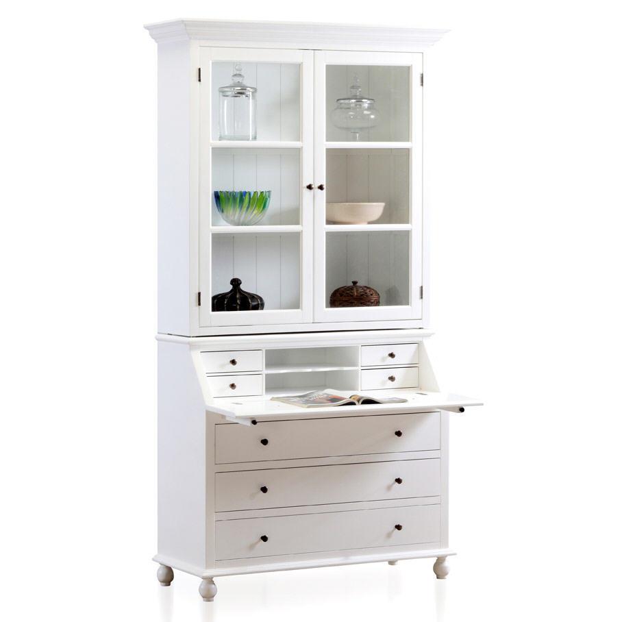 Meuble Secretaire Blanc Maison Design