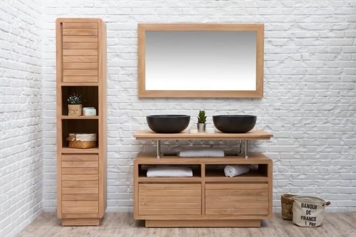meuble salle de bain cdiscount
