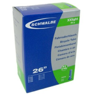 Schwalbe 26 x 1.50-2.10 XX Light 95gr. Schrader