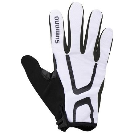 Shimano Long Gloves Light Uzun Eldiven Beyaz L