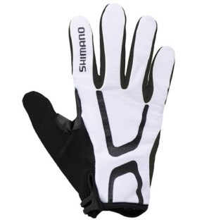 Shimano Long Gloves Light Uzun Eldiven Beyaz L