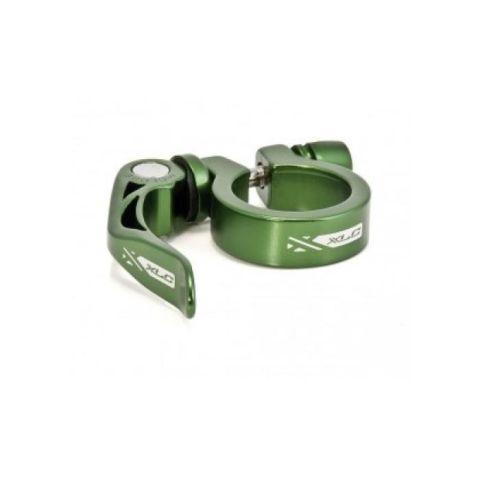 XLC PC-L04 Mandallı Sele Kelepçesi 34.9mm Yeşil