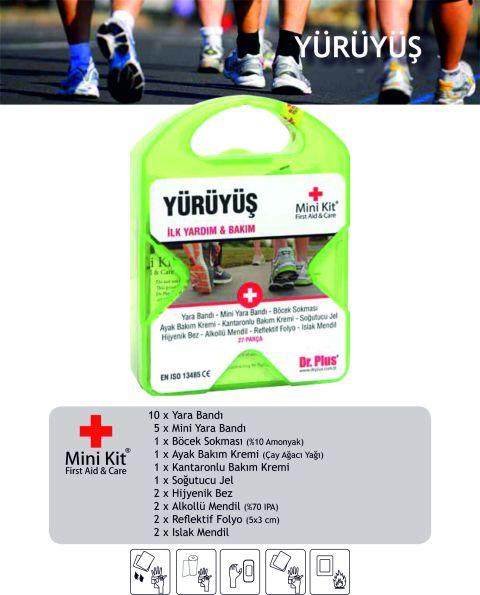 Yürüyüş Mini Kit® First Aid&Care