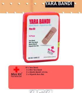 Yara Bandı Mini Kit® First Aid&Care