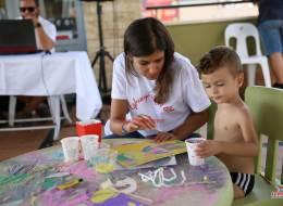 Renkli El İşi Kağıtları ile Kum Boyama İzmir