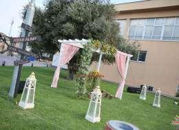 Ahşap Gazebo Dekor Çiçek Süslemeleri İzmir