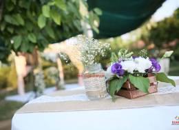 Canlı ve Yapay Çiçek Süsleme İzmir Düğün Organizasyonu