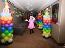 Dikme Balon Süsleme ve Maskot Kiralama İzmir Animasyonlu Açılış Organizasyonu