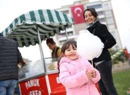 Pamuk Şekerci Kiralama İzmir