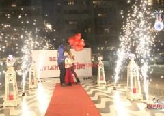 Kordon'da Evlilik Teklifi Organizasyonu Paketi Yer Volkanı Temini İzmir Organizasyon