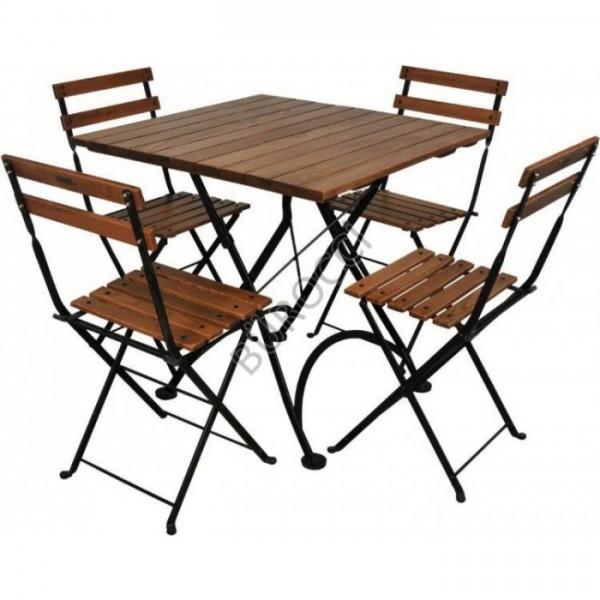 Miray Masa Miray 4 Adet Sandalye Takimi Beyaz Modalife Mobilya Pratik Mobilya