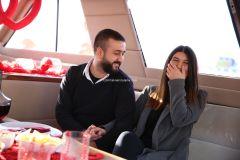Mutluluk Teknesi Tuğçe Selim İzmir Organizasyon 5 - Teknede Evlenme Teklifi Organizasyonu