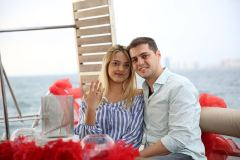 izmir tekne kiralama 9 - Teknede Evlilik Teklifi Organizasyonu 2