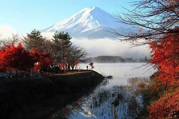Tableau mural Mont Fuji  Izoa