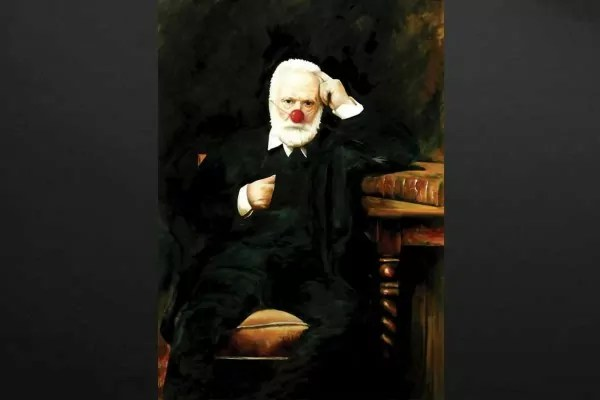 Tableau moderne Victor Hugo  Izoa