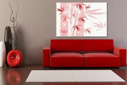 tableau salon rouge d coration de maison id es de design. Black Bedroom Furniture Sets. Home Design Ideas