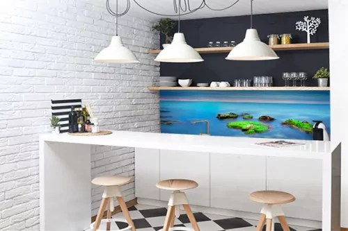 credence cuisine bord de mer