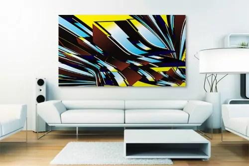 toile murale design autantick