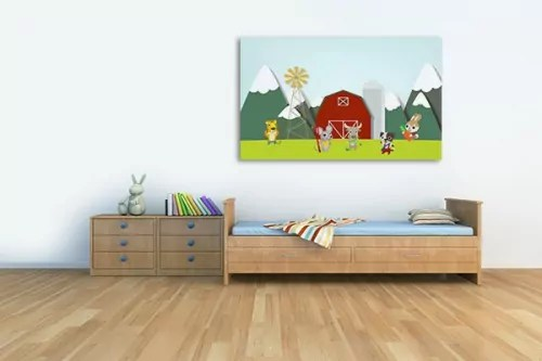 Tableau pour enfant  tableaux dco enfant dcoration murale chambre bb  Izoa