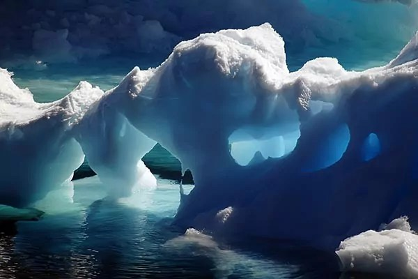 Tableau moderne Pole nord  Izoa