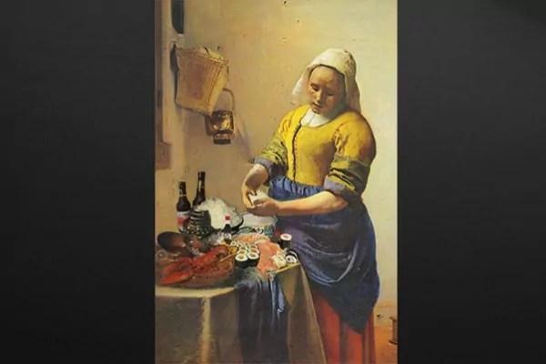 Tableau dco la Sushire de Vermeer  Izoa