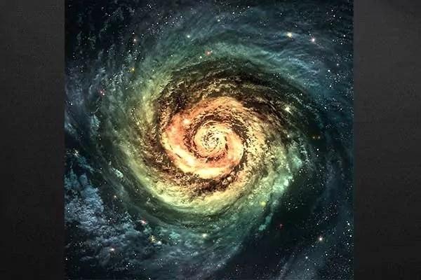 Tableau dco Spirale dtoiles  Izoa