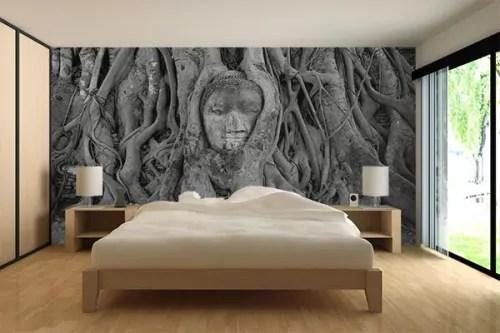 papier peint panoramique chambre