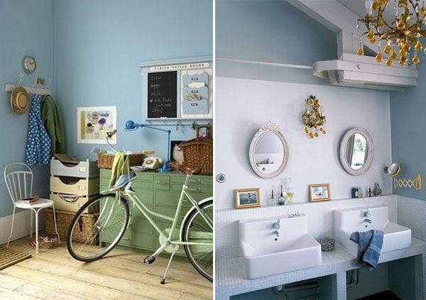 décoration intérieur couleur bleu