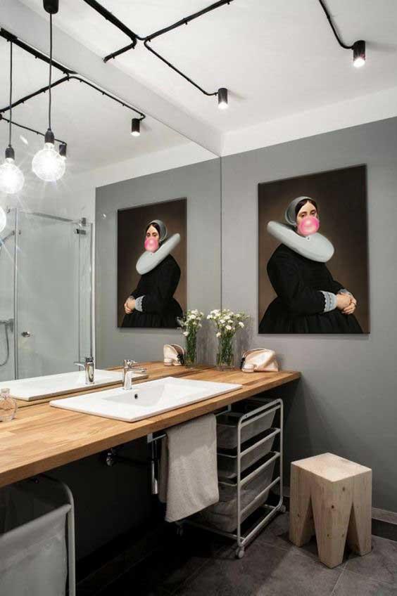 Un tableau dcoration pour salle de bain  Blog Izoa